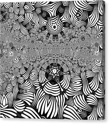 Canvas Print - Black N White 1 by Herbert Briley