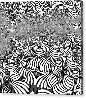 Canvas Print - Black N White 3 by Herbert Briley - ink4inc