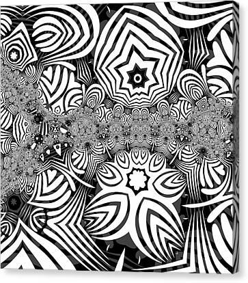 Canvas Print - Black N White 4 by Herbert Briley