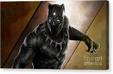 Black Panther Collection Canvas Print