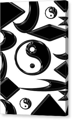 Yin Yang  Abstract Canvas Print by Aimee L Maher Photography and Art Visit ALMGallerydotcom