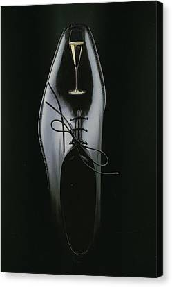 Black Shoe Canvas Print