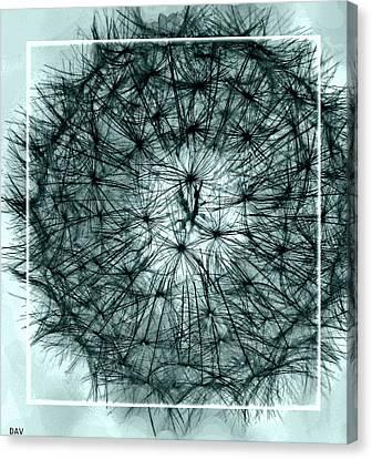 Black Sphere Canvas Print