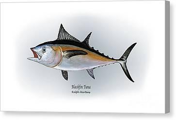 Blackfin Tuna Canvas Print by Ralph Martens