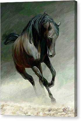 Blackjack Canvas Print