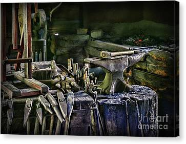 Blacksmith - This Is My Anvil Canvas Print