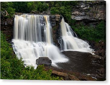 Blackwater Falls State Park West Virginia Canvas Print