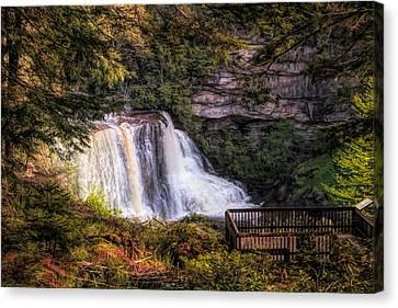 Blackwater Falls West Virginia Canvas Print