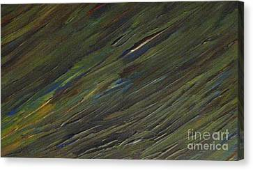 Blades Of Grass Canvas Print by Shelly Wiseberg