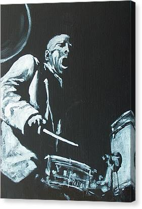 Blakey Canvas Print by Pete Maier