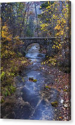 Blanchard Stone Bridge Canvas Print