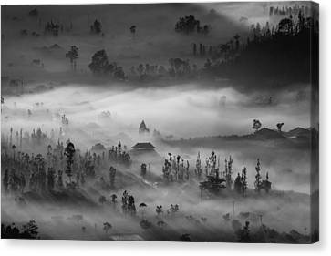 Blanket Canvas Print by Efraim Dastanta Ginting