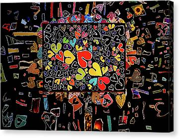 Blanket Of Love  Canvas Print by Kenneth James