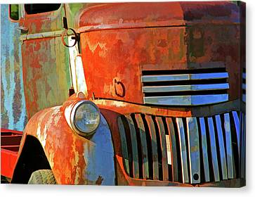 Canvas Print featuring the photograph Blast From The Past 6 by Lynda Lehmann