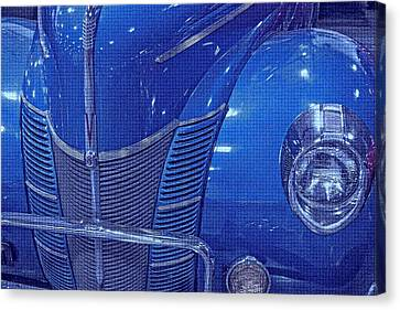 Electric Blue  Canvas Print by Dennis Baswell