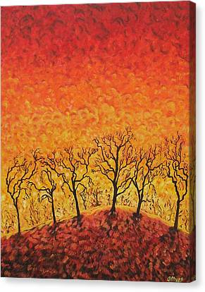 Carolinestreet Canvas Print - Blaze by Caroline Street