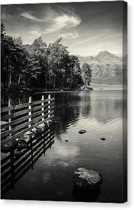 Blea Tarn Canvas Print by Dave Bowman