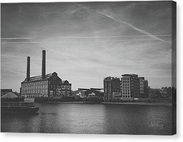 Bleak Industry Canvas Print