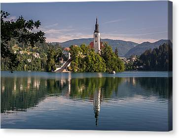 Bled Canvas Print by Davorin Mance