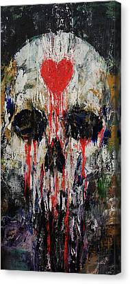 Bleeding Heart Canvas Print by Michael Creese