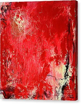 Bleeding Love Canvas Print by Jutta Maria Pusl