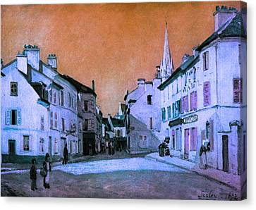Blend 15 Sisley Canvas Print