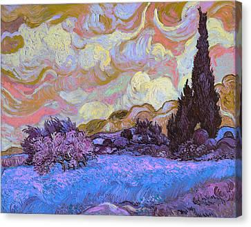 Blend 20 Van Gogh Canvas Print by David Bridburg
