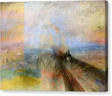 Blend 5 Turner Canvas Print
