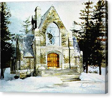 Blenheim Chapel Canvas Print by Hanne Lore Koehler