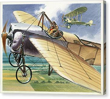 Bleriot Xi Monoplane Canvas Print by Wilf Hardy