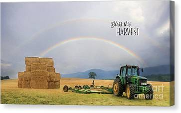 Bless This Harvest Canvas Print by Lori Deiter