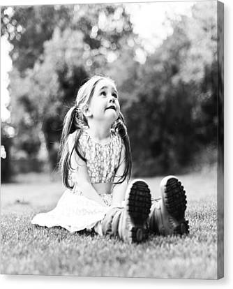 Blessed Are The Childern Canvas Print