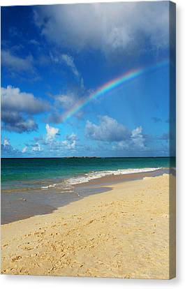 Blessed With A Rainbow Canvas Print