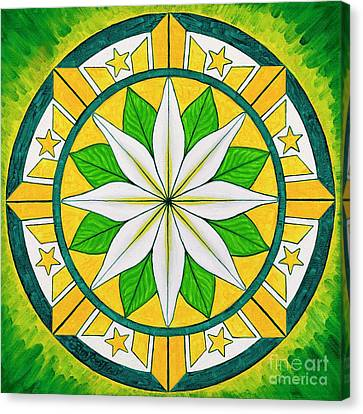 Blessings Of Kapayapaan/bendiciones De La Paz Canvas Print