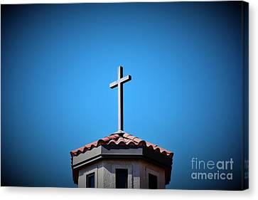 Canvas Print featuring the photograph Blessings To Everyone Of All Faiths by Ray Shrewsberry