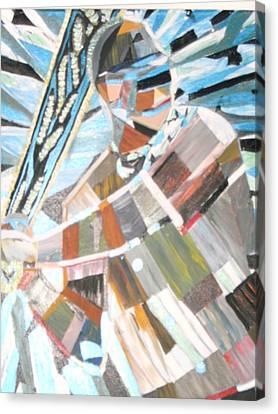 Blind Faith Canvas Print by Becky Jenney