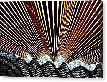 Blind Shadows Abstract I I I Canvas Print