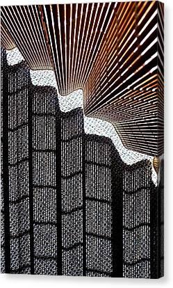 Blind Shadows Abstract I Canvas Print
