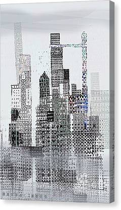 Blip 2  Canvas Print by Andy  Mercer