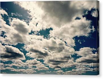 Blissful Clouds Canvas Print