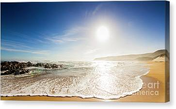 Blissful Ocean Panorama Canvas Print by Jorgo Photography - Wall Art Gallery