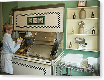 Blists Hill Chippy  Canvas Print by Rob Hawkins