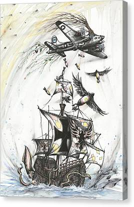 Blitzkrieg Of Whimsy Canvas Print