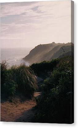 Canvas Print featuring the photograph Block Island by John Scates