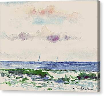 Block Island Sound Canvas Print by Joan Hartenstein
