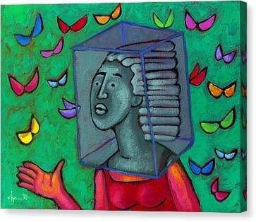 Blocked Canvas Print by Angela Treat Lyon