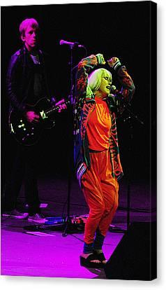 Debbie Harry Canvas Print - Blondie 1 by Rafa Rivas