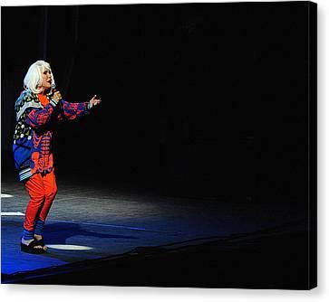 Debbie Harry Canvas Print - Blondie 2 by Rafa Rivas