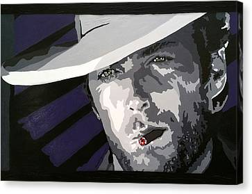 Blondie In The Good, The Bad, The Ugly Canvas Print