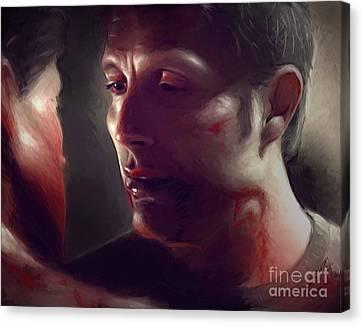 Blood And Breath Canvas Print by Dori Hartley